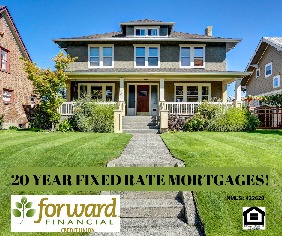20 Year Fixed Rate Mortgages